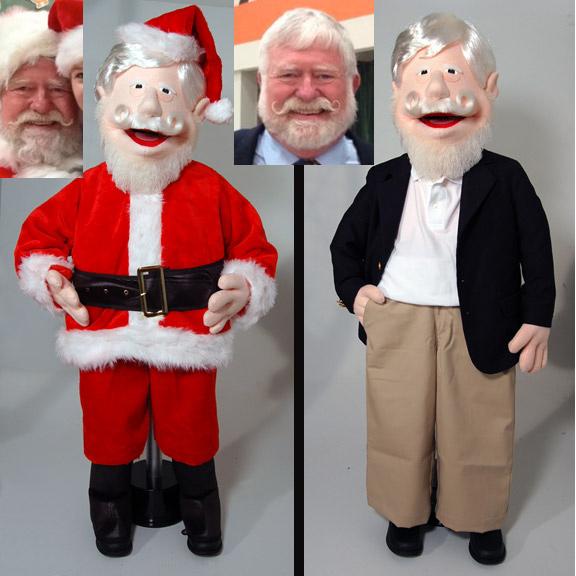 custom puppet christmas